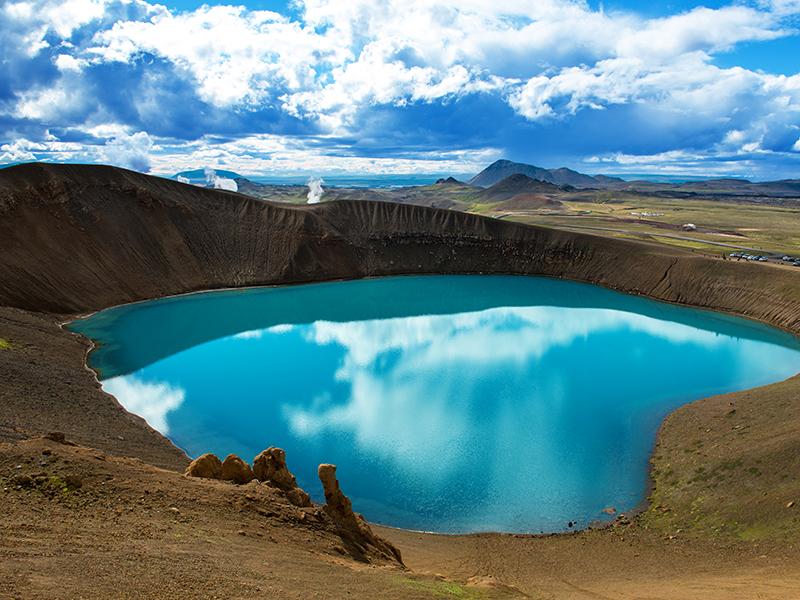 BILFERIE PÅ ISLAND_Kjør Selv ferie rundt Island_Opplev Krafla på bilferie med Din Islandsreise © Din Islandsreise