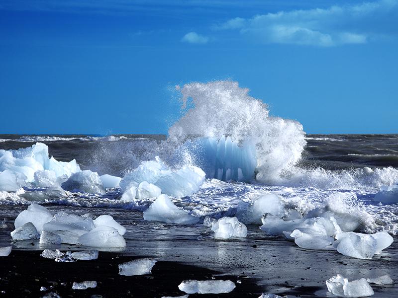 BILFERIE PÅ ISLAND_Sør- Vest- og høylandet på Island_Opplev Breidarmerkurlon på bilferie med Din Islandsreise © Din Islandsreise