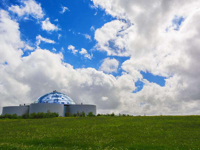 GUIDEDE TURER PÅ ISLAND_Guidede dagsturer fra Reykjavik med Din Islandsreise_Opplev den flotte Perlan i Reykjavik med Din Islandsreise © Din Islandsreise