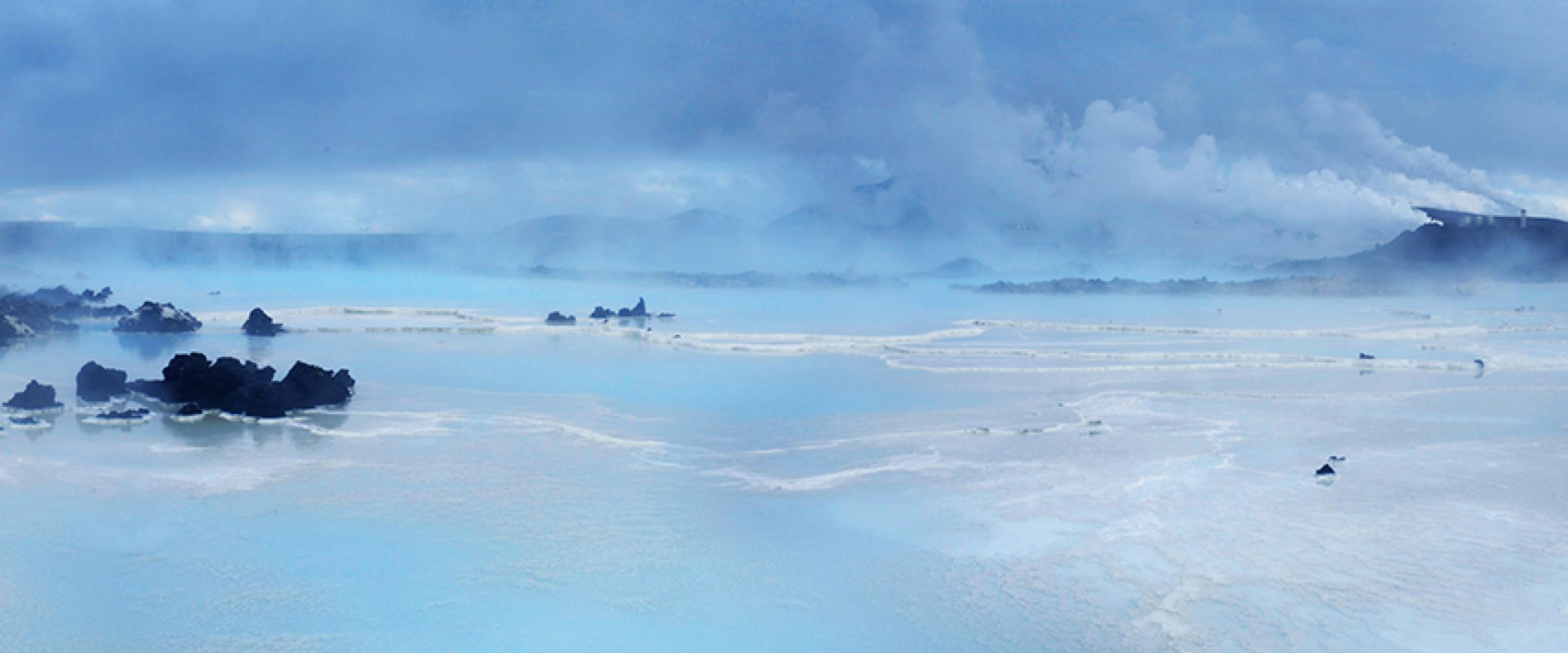 DEN BLÅ LAGUNE OG SPA PÅ ISLAND © Din Islandsreise