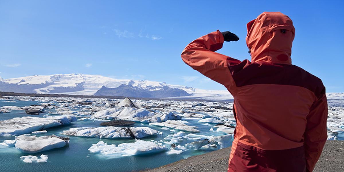 BILFERIE PÅ ISLAND_Bilferie gjennom det vakre Sør-Island_Breidarmerkurlon © Din Islandsreise