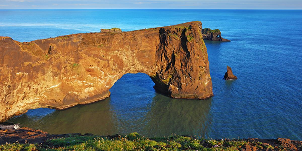 BilFERIE PÅ ISLAND_Komplet bilferie rundt Island_Dyrhóley på Island© Din Islandsreise