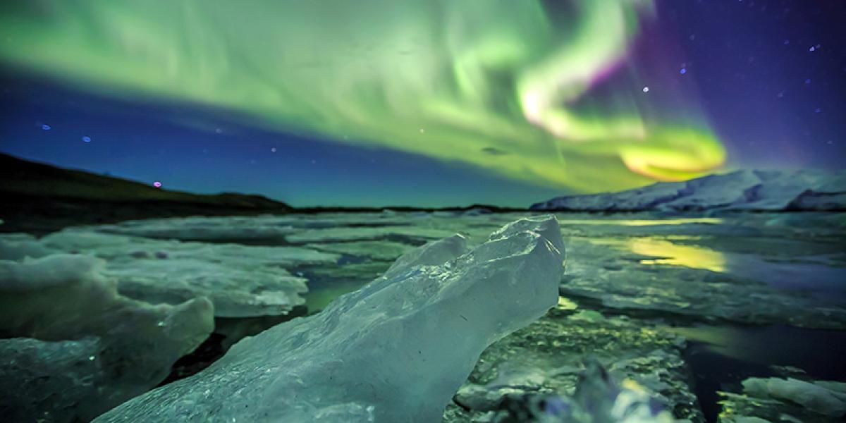 GUIDEDE TURER PÅ ISLAND_Guidede dagsturer fra Reykjavik_Vinter_Det magiske nordlyset på vinterstid © Din Islandsreise