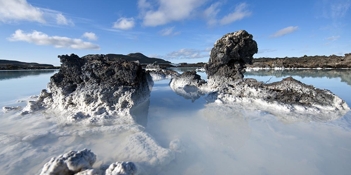 KONFERANSE PÅ ISLAND_Konferanse i Den Blå Lagune på Island_Flotte konferanse i Den Blå Lagune med den spektakulære naturen © Din Islandsreise