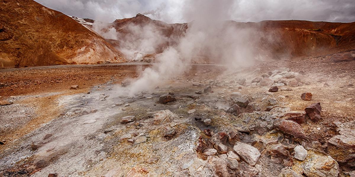 SUPER JEEP TURER PÅ ISLAND_Kjør Selv Super Jeep på Island_Hengill_Geotermiske områder på Island © Din Islandsreise